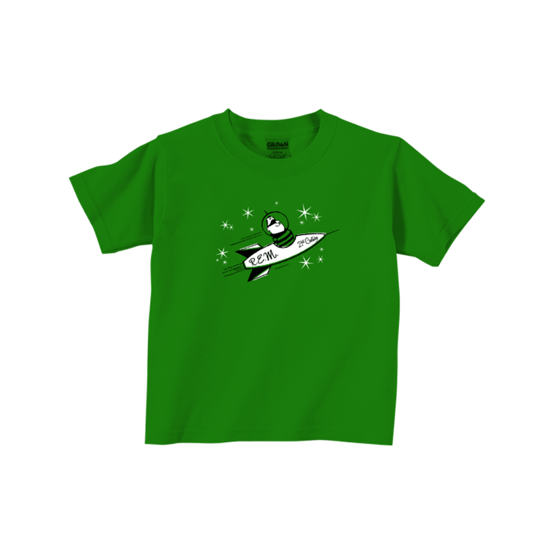 Rocket Throwback Toddler Tee - R.E.M.
