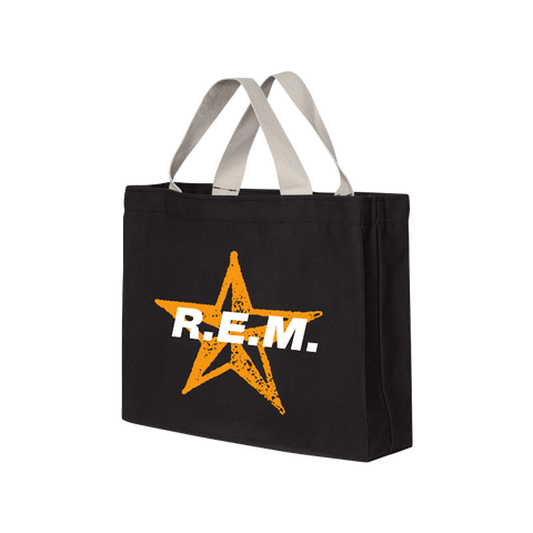 Star Throwback Tote Bag - R.E.M.