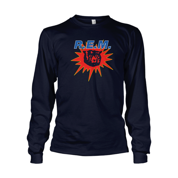Monster Longsleeve Throwback Tee - R.E.M.
