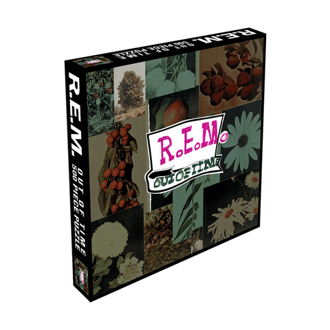 Out of Time Flower Puzzle - R.E.M.