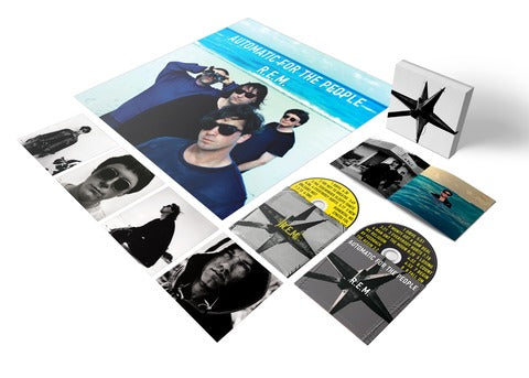 Automatic For The People 25th Anniversary Deluxe Edition - 2 CD-R.E.M.