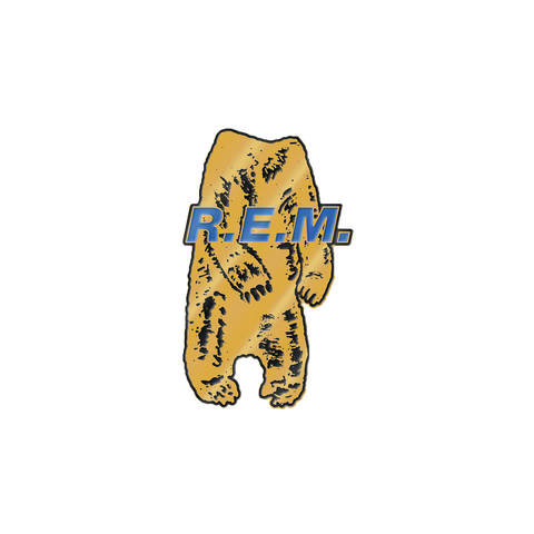 Bear Body Enamel Pin - R.E.M.