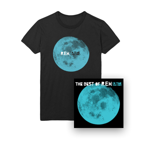 In Time LP + Tee Bundle-R.E.M.