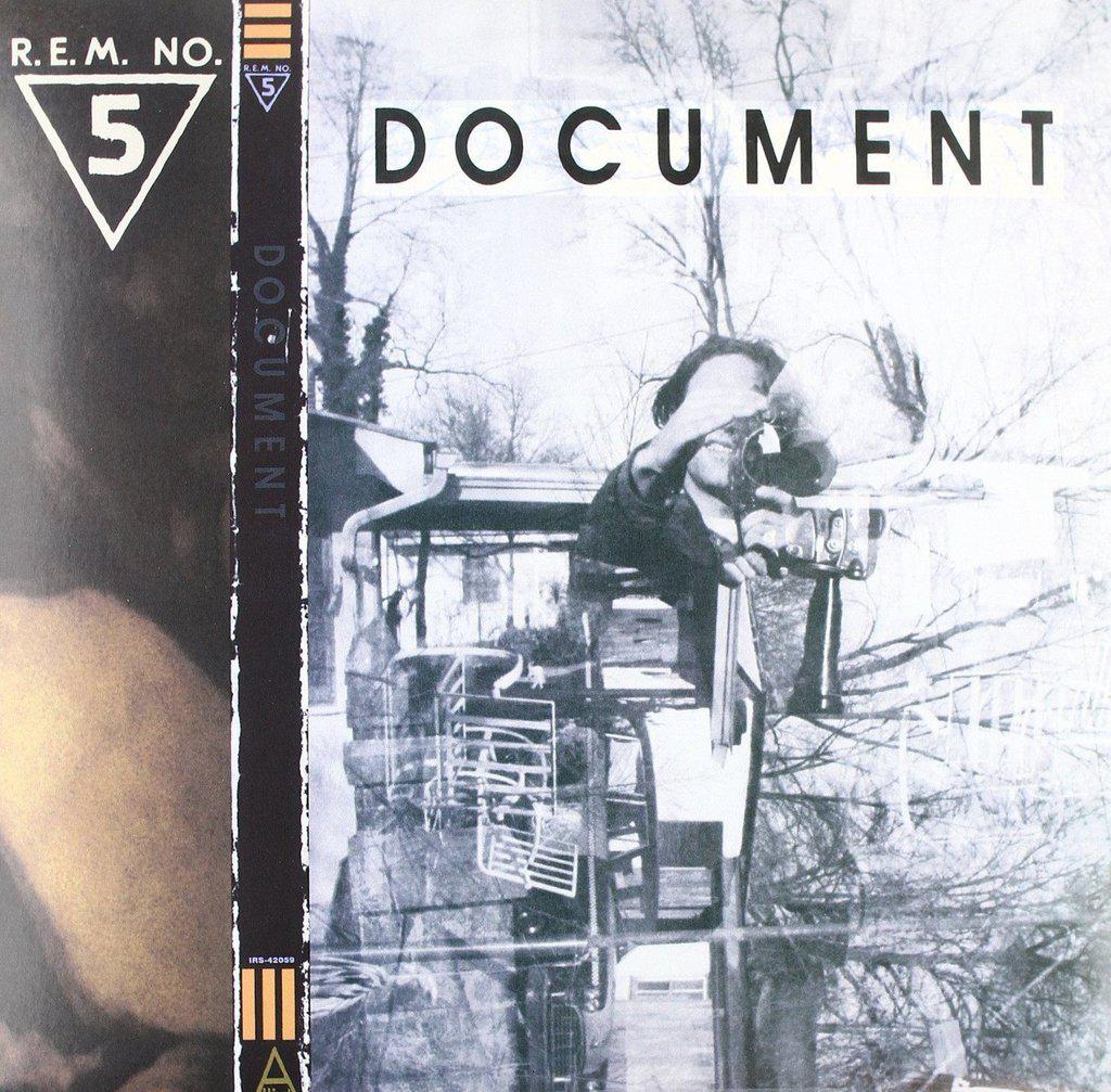 Document 2018 Repress Gold Vinyl - R.E.M.