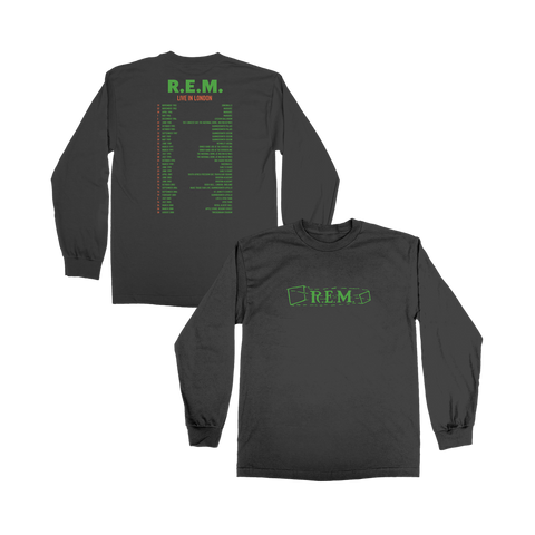 Live In London Long Sleeve Tee - R.E.M.