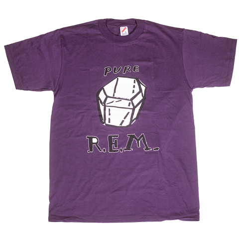 Purple Pure Tee - R.E.M.