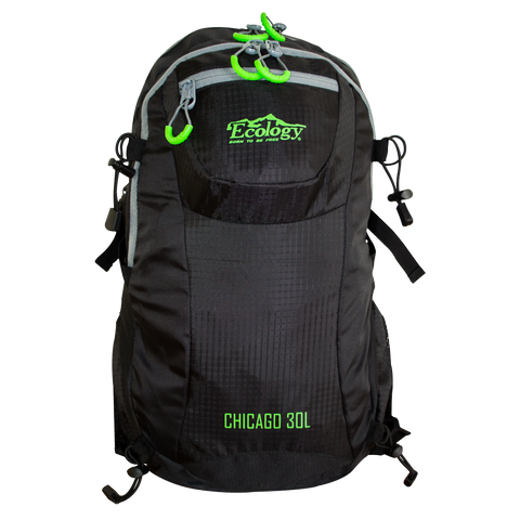 Morral de ataque Chicago 30 L (Negro)