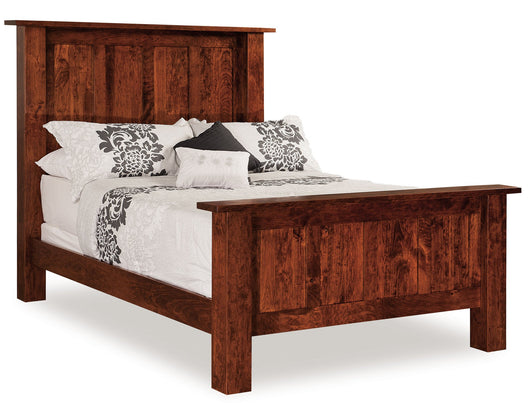 Heidi Bed shown in Rustic Cherry/Michaels