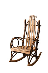 Standard Rocker shown with Hickory/Natural slats