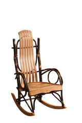 Standard Rocker shown with Cherry/Natural slats