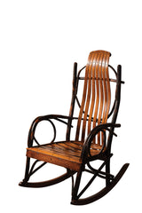 Jumbo Rocker shown with Oak/Michael slats