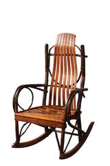 Oversized Rocker shown with Oak/Michaels slats