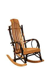 Youth Rocker shown in Oak/Natural slats