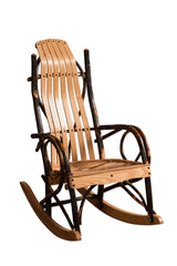 Childs Rocker shown with Oak/Natural Slats