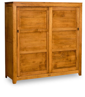 Addison Armoire shown in Brown Maple with Malagania stain