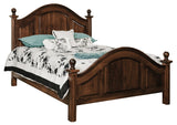 Adrianna bed shown in Brown Maple/Coffee