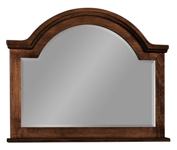 Adrianna mirror shown in Brown Maple/Coffee