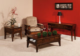 Amarillo living room collections shown in Brown Maple/Asbury
