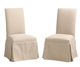 Arvada Upholsterd Chair shown in Oak/Brushed Sandstorm with a low sheen finish