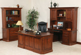 Buckingham office collection shown in Cherry/Washington