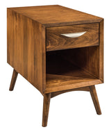 Century small end table shown in Brown Maple/Chocolate Spice