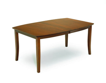 Imperial Leg table shown in Brown Maple/Asbury