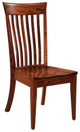 Beckley side chair shown in Oak/Michaels