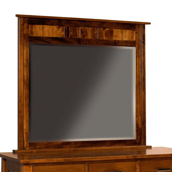Freemont Mission large mirror shown in Brown Maple/Asbury
