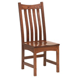 Bellingham side chair shown in Oak/Old World Mission