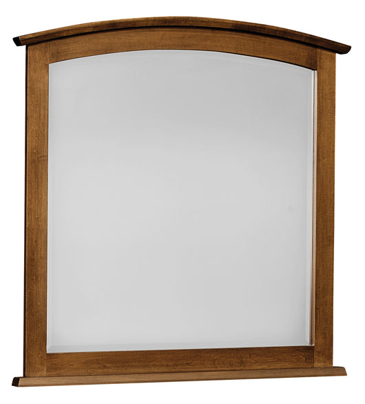 Laurel mirror shown in Brown Maple/Chocolate Spice
