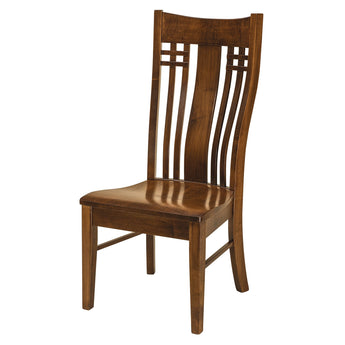 Bennett side chair shown in Brown Maple/Nutmeg