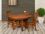 Lincoln Dining suite shown in Oak/Michaels