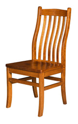 Lincoln Side chair shown in 1/4 Sawn White Oak/Michaels