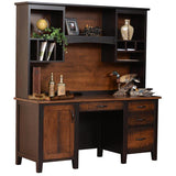 Manhattan Credenza with Hutch