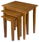 Shaker Nesting Table Set