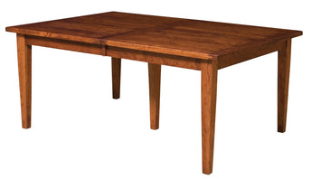 Jacoby Leg table shown in Rustic Cherry/Michaels