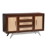 Tribecca buffet shown in Maple/Asbury with Natural panels