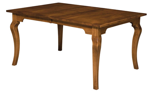 Granby Leg table shown in Brown Maple/Golden Brown