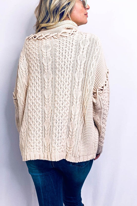 Knot detail sweater