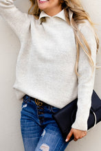 Collar Neck Sweater