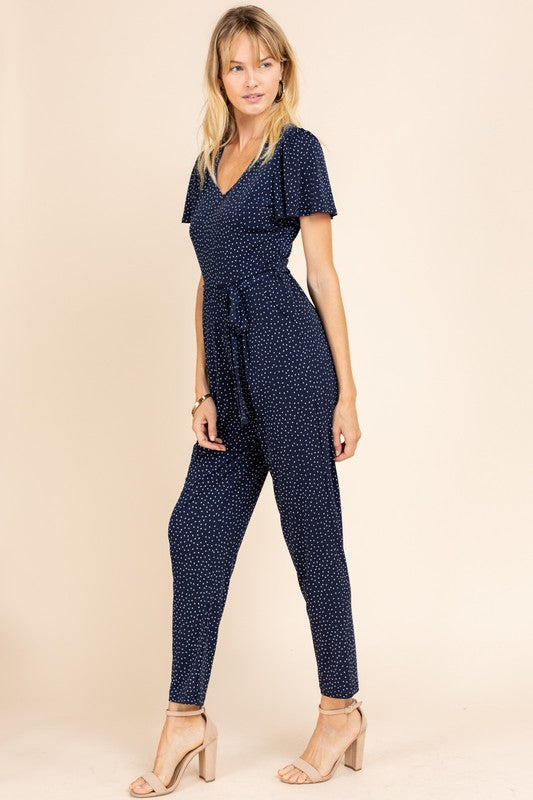 Navy/white Jumpsuit