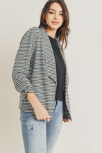 Charcoal striped blazer