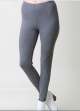 Charcoal peach skin leggings