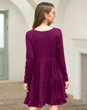 Long Sleeve Dress with Ruffle