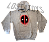 Marvel Men's Deadpool Pull Over Hoodie