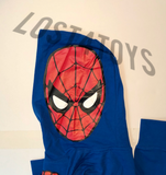 Marvel Kids Spider-Man pull-over Hoody costume style