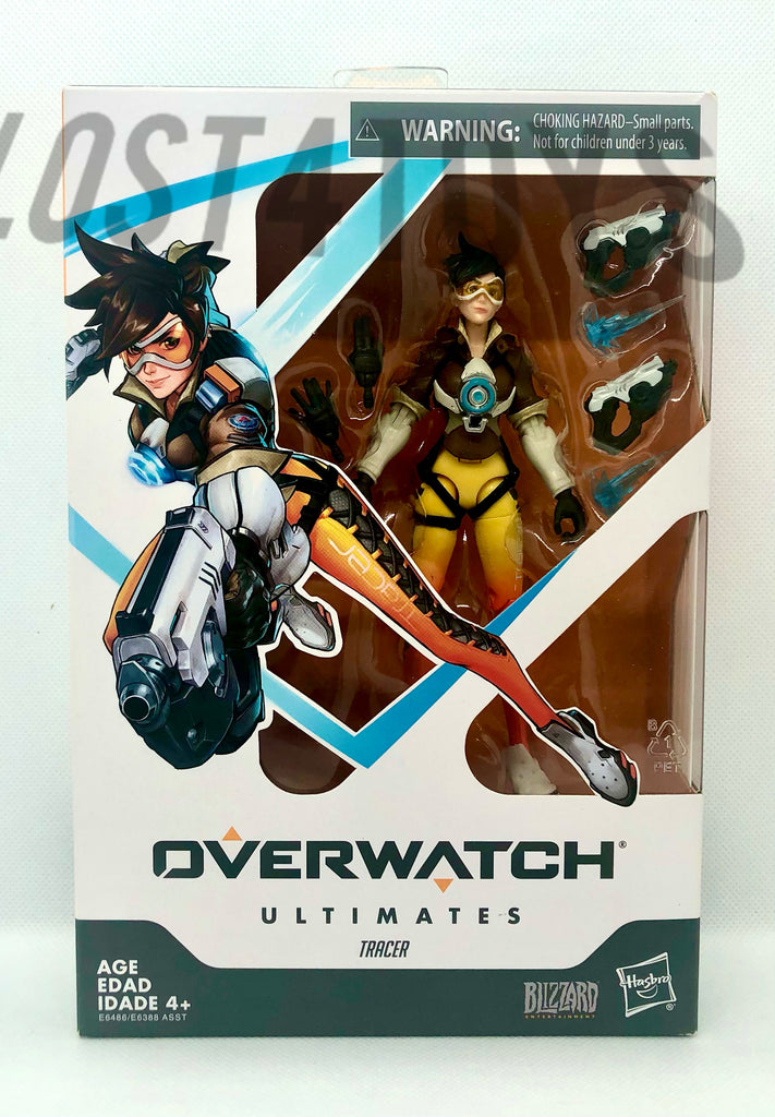 Hasbro Overwatch Ultimates Series Tracer Action Figure