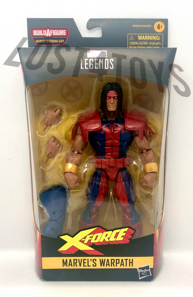 Hasbro Marvel Legends Marvel's Warpath Action Figure w/ Marvel's Strong Man BAF