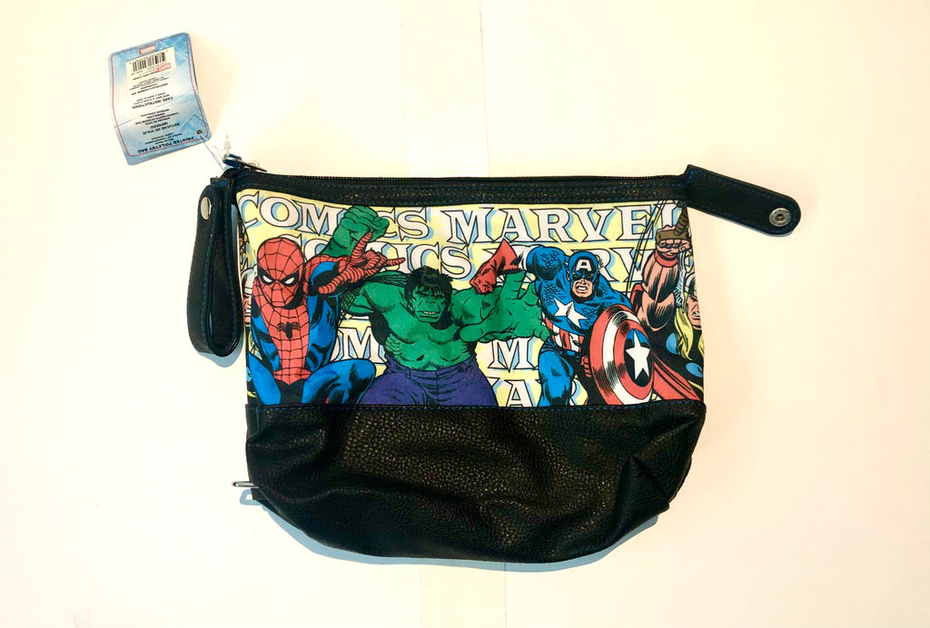 Marvel Character print toiletry bag