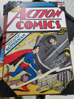 Silver Buffalo Superman Action Comics